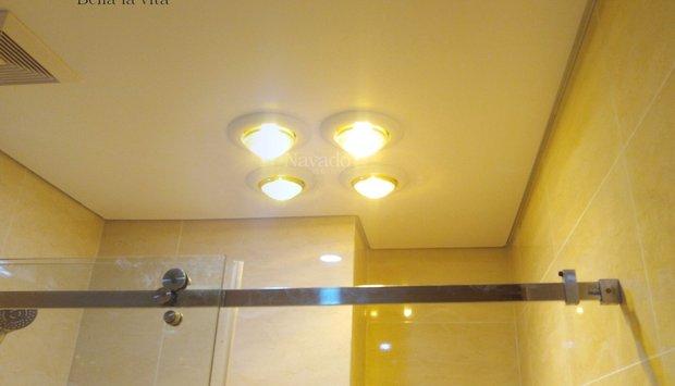 Những tính năng nổi trội của đèn sưởi âm trần 4 bóng hồng ngoại