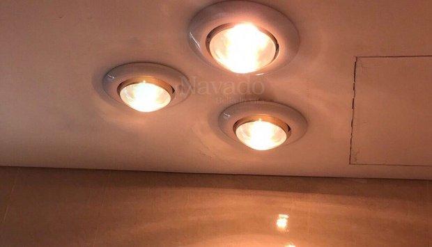 Chia sẻ kinh nghiệm mua và sử dụng đèn sưởi âm trần chi tiết nhất
