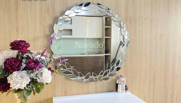 Hướng dẫn cách chọn gương bàn trang điểm decor treo tường