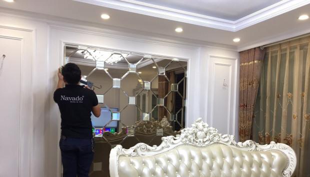 Cách lắp đặt gương treo tường an toàn cho gia đình có trẻ nhỏ