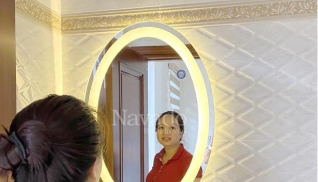 Mua gương nhà tắm có đèn ở đâu uy tín, chất lượng tại Hà Nội?