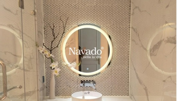 Bộ gương chậu phòng tắm xu hướng thiết kế mới hiện đại sang trọng