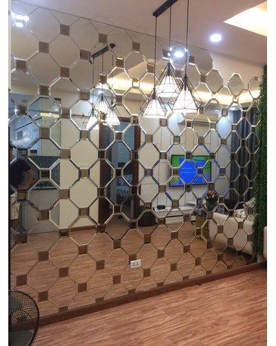 Gương nghệ thuật cao cấp phòng khách Hà Nội