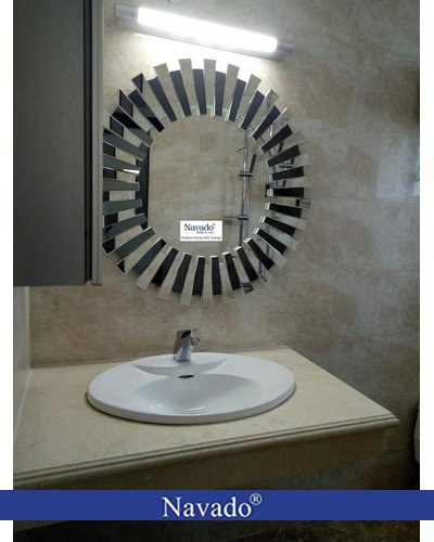 Gương phòng tắm nghệ thuật treo tường Mestasy