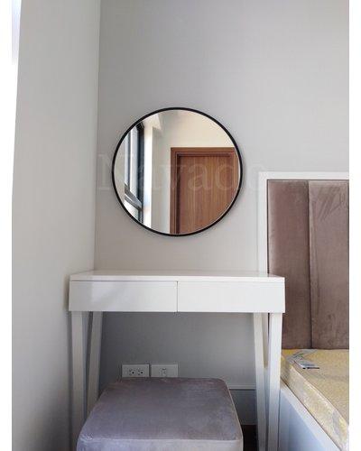 Gương tròn trang điểm vành thép Decor Optiama