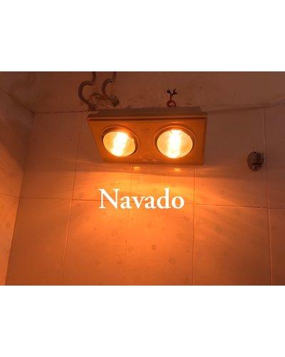 Sản xuất đèn sưởi treo tường 2 bóng navado