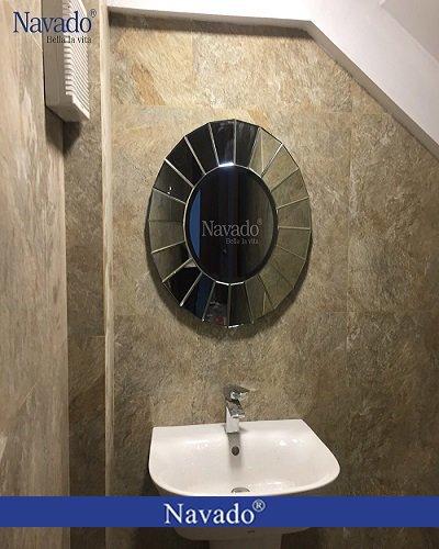 Gương phòng tắm nghệ thuật cao cấp UFO