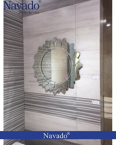 Gương nghệ thuật treo tường Sunflower
