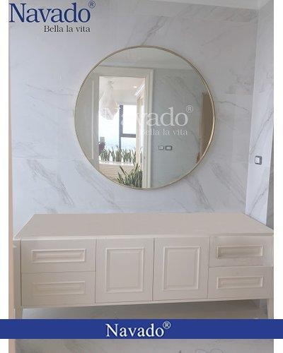 Gương phòng tắm gắn tường Inox