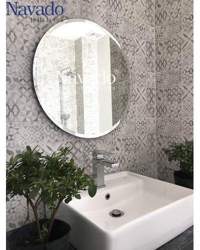 Gương trơn thiết bị vệ sinh phòng tắm
