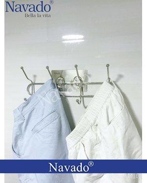 Móc treo đồ inox phòng tắm đa năng