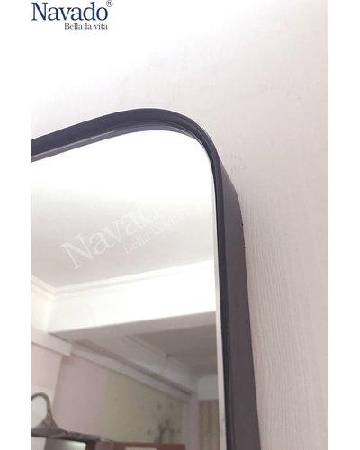 Gương soi toàn thân vành thép đen