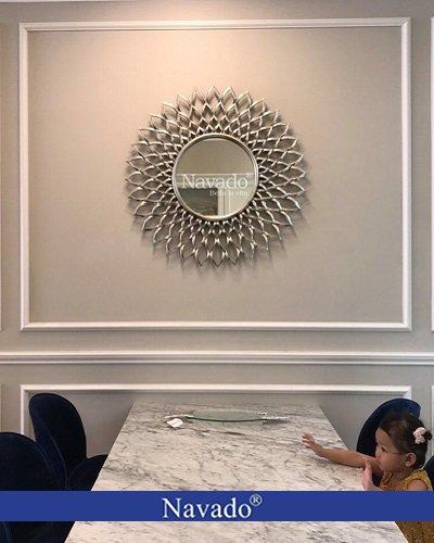 Gương treo tường decor Electra