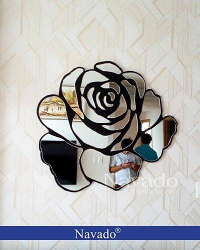 Gương trang trí nội thất Rose