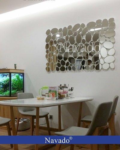 Gương trang trí bàn ăn tiên cá