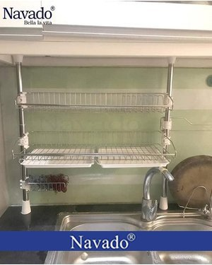 Kệ kích tủ bếp inox