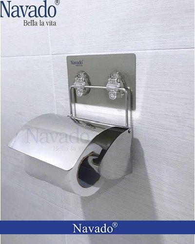 Kệ lô giấy vệ sinh dán tường tiện ích