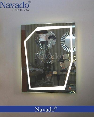 Gương đèn led cảm ứng bàn trang điểm