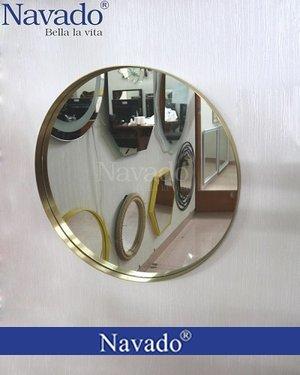 Gương tròn inox mạ PVD cao cấp