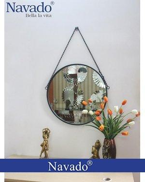 Gương vành thép dây xích