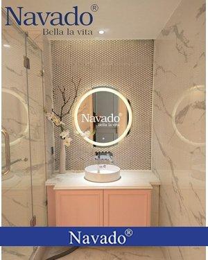 Gương phòng tắm cảm ứng đèn led