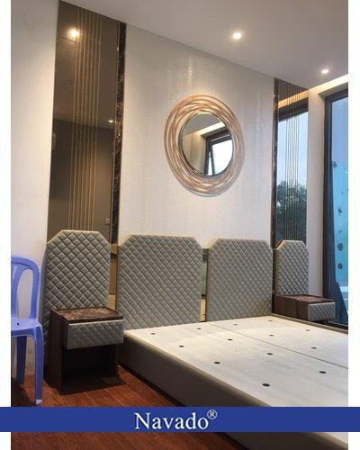 Gương trang trí treo tường phòng khách Julia