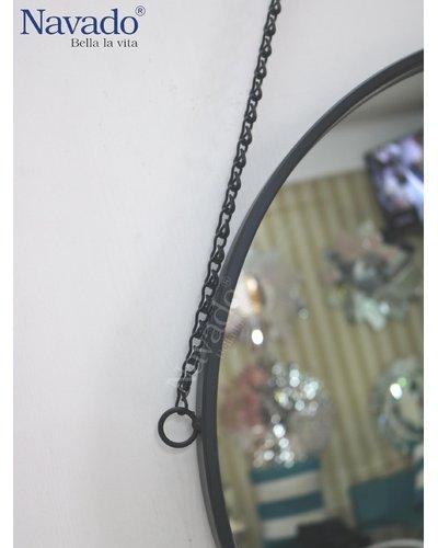 Gương trang điểm treo dây xích 50Cm