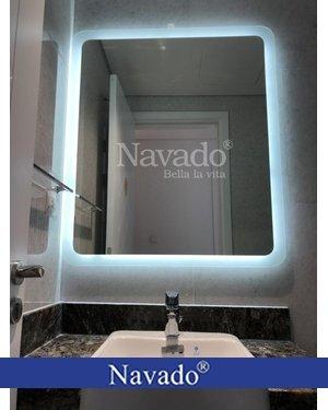 Gương phòng tắm led hắt cao cấp