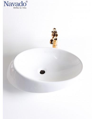 Chậu lavabo phòng tắm cao cấp RS1342A