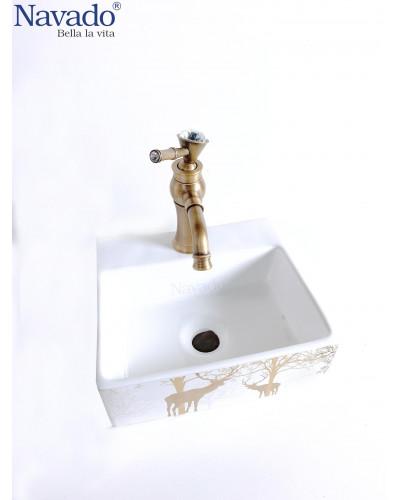 Chậu Lavabo phòng tắm Nghệ Thuật 1109L