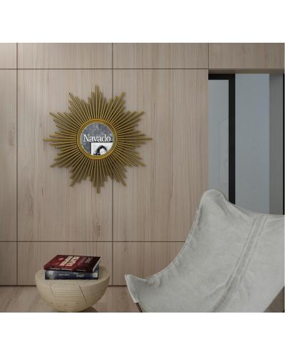 Gương khung tân cổ điển treo tường phòng khách Aten