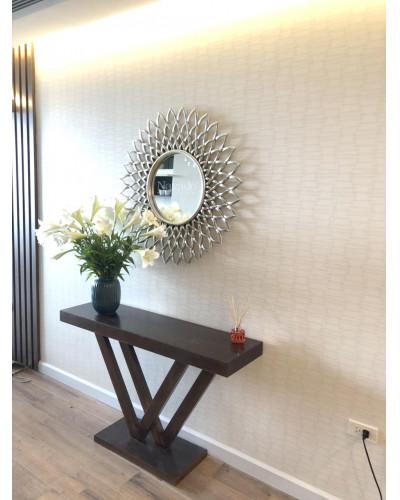 Gương nghệ thuật trang trí bày bàn decor phòng khách Electra