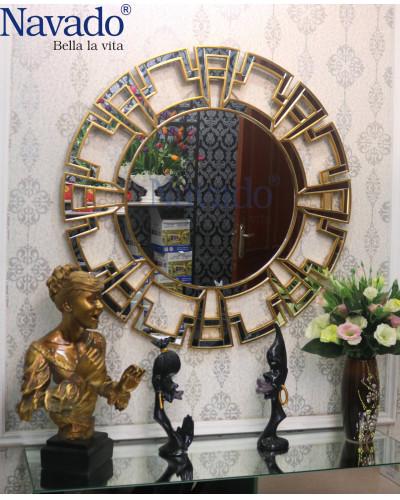 Gương khung tân cổ điển trang trí decor phòng khách