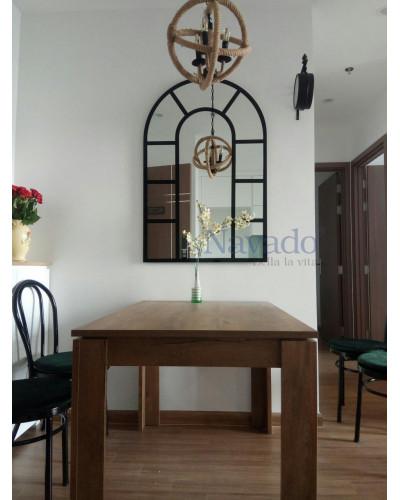 Gương cửa sổ decor trang trí treo tường phòng khách Window