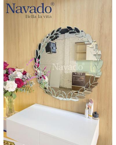 Gương trang điểm nghệ thuật phòng ngủ Nguyệt Quế