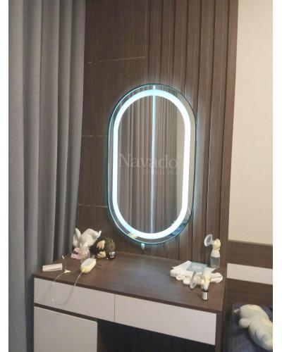 Gương trang điểm có đèn led cao cấp 50 x 90cm