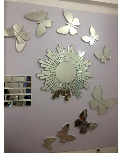 Gương nghệ thuật decor treo phòng ngủ cao cấp