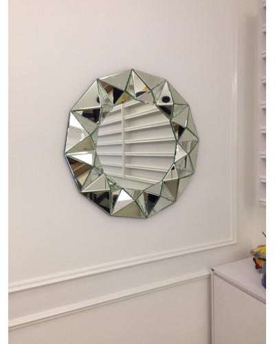 Gương treo tường decor trang trí phòng khách Queen Bee