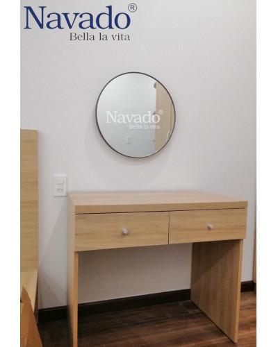 Gương trang điểm tròn mài vát 60cm
