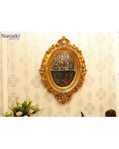 Gương treo tường phòng khách decor Hypnos