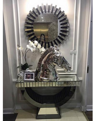 Bộ bàn gương decor trưng bày phòng khách cao cấp