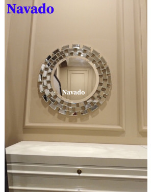 Gương bàn trang điểm phòng ngủ cao cấp Sunset 60 cm