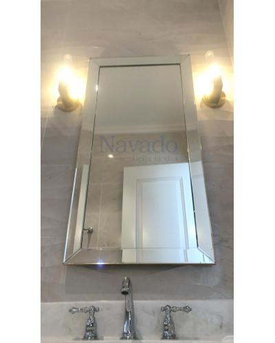 Gương phòng tắm decor Branco