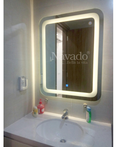 Gương phòng tắm decor hiện đại