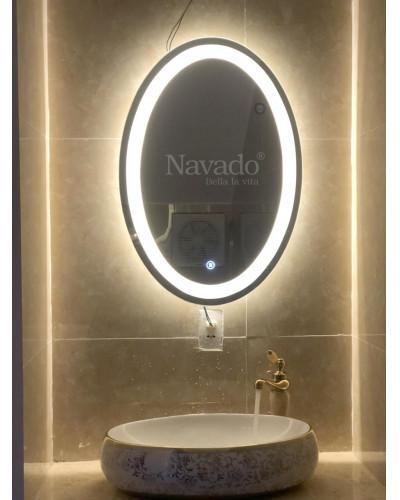 Gương treo tường phòng tắm Elip cao cấp