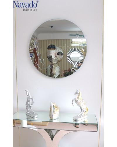 Gương bàn trang điểm decor Elsa
