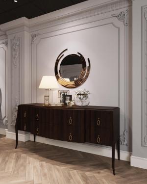 Gương trang trí phòng khách cao cấp Hà Nội