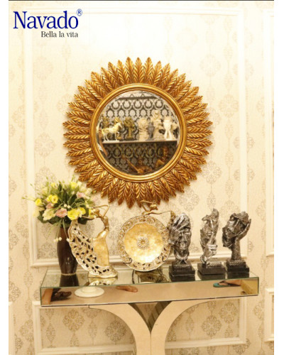 Gương trang trí phòng khách Gea