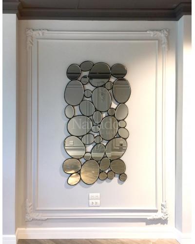 Gương trang trí decor phòng khách Hà Nội