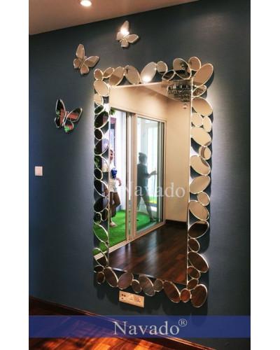 Gương soi toàn thân decor phòng khách